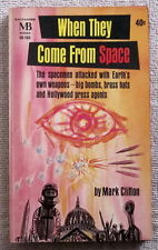 When They Come from Space by Mark Clifton PB 1st Macfadden 40-105