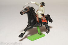 BRITAINS DEETAIL SOLDIER ON BLACK HORSE EXCELLENT CONDITION