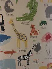 Children's Roller Black Out Blind Animals BRAND NEW 100w x 159d