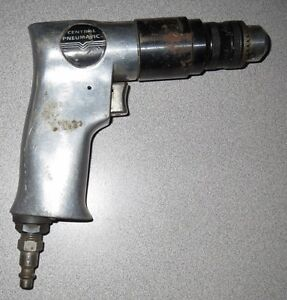 Central Pneumatic 35229 3/8 Reversible Air Drill - Used!