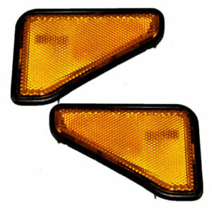 FITS FOR 2003 - 2008 ELEMENT FRONT REFLECTOR RIGHT & LEFT PAIR SET
