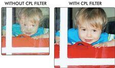 CIRCULAR POLARIZER CPL FILTER FOR CANON EOS REBEL 450D 1000D XS XSi T4i T1i T2i
