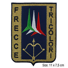Toppa frecce tricolori patch militare ricamata termoadesivo da stirare per jeans