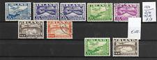 ICELAND @  1934    Air Mail 175/180 A/B @ Ice.63