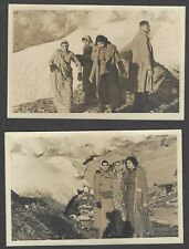 Norway Indian Parsee family North Cape, Norway vintage real photo postcards (2)