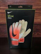 New Nike Spyne Pro Elite Soccer Goalkeeper goalie gloves size 6 (GS3376-100)