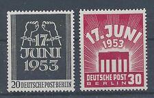Berlin 110/11 postfrisch / 17. Juni (10091) ....................................