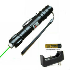 New listing Green laser pointer 10 miles visible light laser light, free battery + charger
