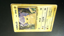 Pikachu Pokemon Base Set No Rarity 1st Edition 1996 Japanese 025 HP