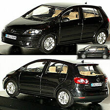 VW GOLF PLUS 2009 Negro Negro Metálico 1:43 MINICHAMPS