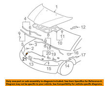 MITSUBISHI OEM 90-99 Eclipse Hood-Support Rod Clip MB401481
