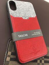 Santa Barbara POLO & RACQUET CLUB iPhone X/XS TPU/PU Case Design Tasche Rouge Terne