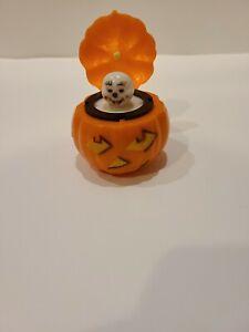 Vintage Halloween Fun World Jack O Lantern Pumpkin Pop Up Ghost Set