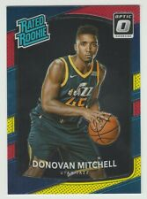 2017-18 Donruss Optic Rookie DONOVAN MITCHELL Rc *JAZZ* MINT Rated Rookie