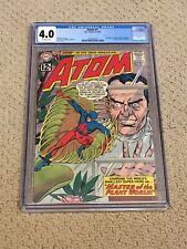 Atom 1 CGC 4.0 OW Pages (1st Atom Solo Title from 1962!!) + magnet