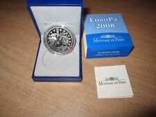"* Francia 1 1/2 euro ""Europa"" plata 2008 * pp"