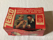 Vintage Zebco Red AND White Boy Scouts Of America FISHING Reel USA!