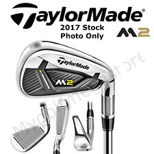 "TaylorMade M2 (2017) Irons 6-PW 0.5"" LONGER Steel NS-PRO 850 GH REGULAR  IR17"
