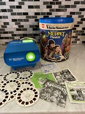 1980 GAF VIEW-MASTER Muppets Theatre Set Projector, Reels, & More