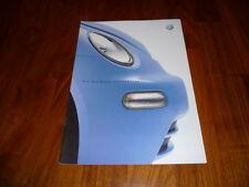 VW New Beetle GENERATION Prospekt 08/2001