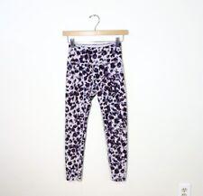 CALVIN KLEIN size XS Performance Wick leopard pattern activewear leggings