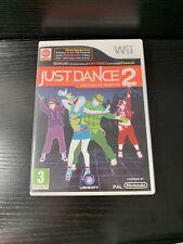 Just Dance 2 Video Game Dancing Nintendo Wii Free Shipping