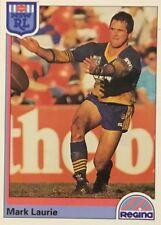 1992 NRL REGINA PARRAMATTA EELS MARK LAURIE #51 CARD FREE POST