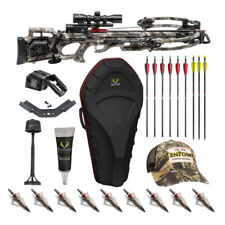 TenPoint Titan M1 370 Fps Crossbow Kit w/ Deluxe Hunter's Accessory Kit and Case