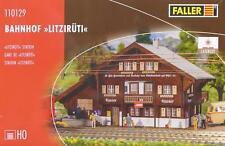 """Faller 110129 H0 - Bahnhof """" Litzirüti """" NEU & OvP"""