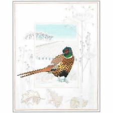Derwentwater Designs Wildlife Cross Stitch Kit - Pheasant