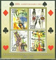 MADAGASCAR  2015  150th ANNIVERSARY OF ALICE IN WONDERLAND SHEET  MINT NH
