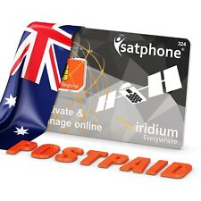 🔥 Iridium Satellite Phone SIM card for Australia 35 plan
