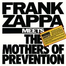 FRANK ZAPPA - FRANK ZAPPA MEETS THE MOTHERS OF PREVENTION  CD ROCK POP NEU