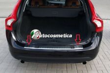 Volvo XC-60 Facelift 2014Up Chrome Rear Bumper Protector Scratch Guard S.Steel,