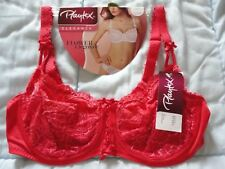 SOUTIEN GORGE PLAYTEX **NEUF** FLOWER ELEGANCE ROUGE TAILLE 95 D