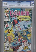 Excalibur  #5  CGC 9.8 1989 Marvel Comic with Pin-up too! Make an Offer!
