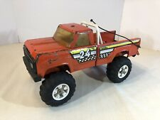 BEAUTIFUL 1970s Vintage Tonka Toy DODGE #24 OFF-ROAD BAJA 1000 RACE Pickup TRUCK