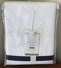 Pottery Barn Morgan 400 Thread Count FULL / QUEEN Duvet Cover ~ Twilight Blue