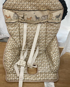 Summer Infant High High Chair Beige Seat Cover - 2 In 1 - Complete Comfort Model