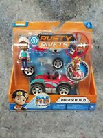 NEW Rusty Rivets Buggy Build Figure Set Spin Master Nickelodeon Toys Toy Car