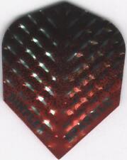 Black, Red & Silver DIMPLEX SPARKLE Dart Flights: 3 per set
