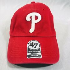 Philadelphia Phillies '47 Franchise Red Fitted Medium Hat Cap - New