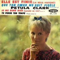 "Petula Clark 7"" Elle Est Finie - France (VG+/VG+)"