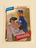 2012 Topps Archives Baseball Rookie Card #119 - Yu Darvish RC - Texas Rangers