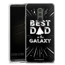 Huawei Mate 10 Porsche Design Silikon Hülle Case - Best Dad in Galaxy