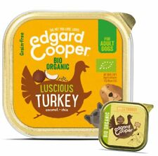 Edgard & Cooper Organic Luscious Turkey for Adult Dogs 100g (Pack of 17)