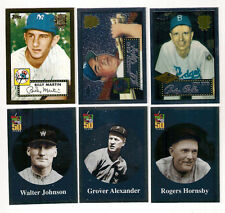 2002 TOPPS CHROME DODGERS ANDY PAFKO 1952 WORLD SERIES INSERT CARD #52R-4