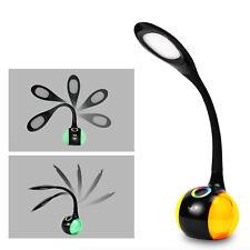 WILIT T3 Schreibtischlampe LED 5w Kinder Tischleuchte Dimmbar schwarz