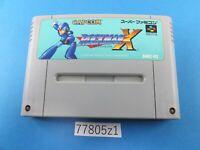 Rockman X Megaman SNES Nintendo Super Famicom SFC Used From Japan 77805z1