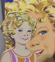 Shirley Temple Child Actress Whitman Vintage 1976 Uncut Paper Doll Set in Box